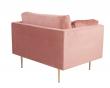 Boom Lænestol, Dusty pink Velour