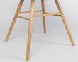 Zuiver - Albert Kuip Spisebordsstol armlæn - Hvid