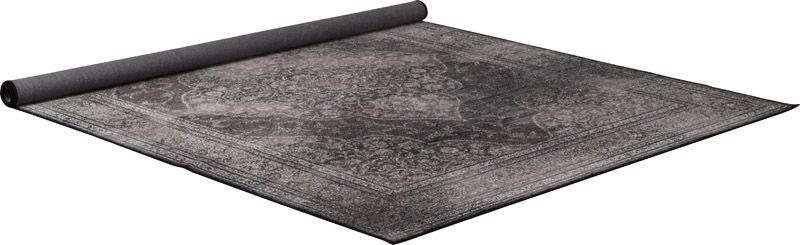 Dutchbone - Rugged Orientalsk Tæppe Mørk - 200x300 - Tæppe i mørk farve - 200x300