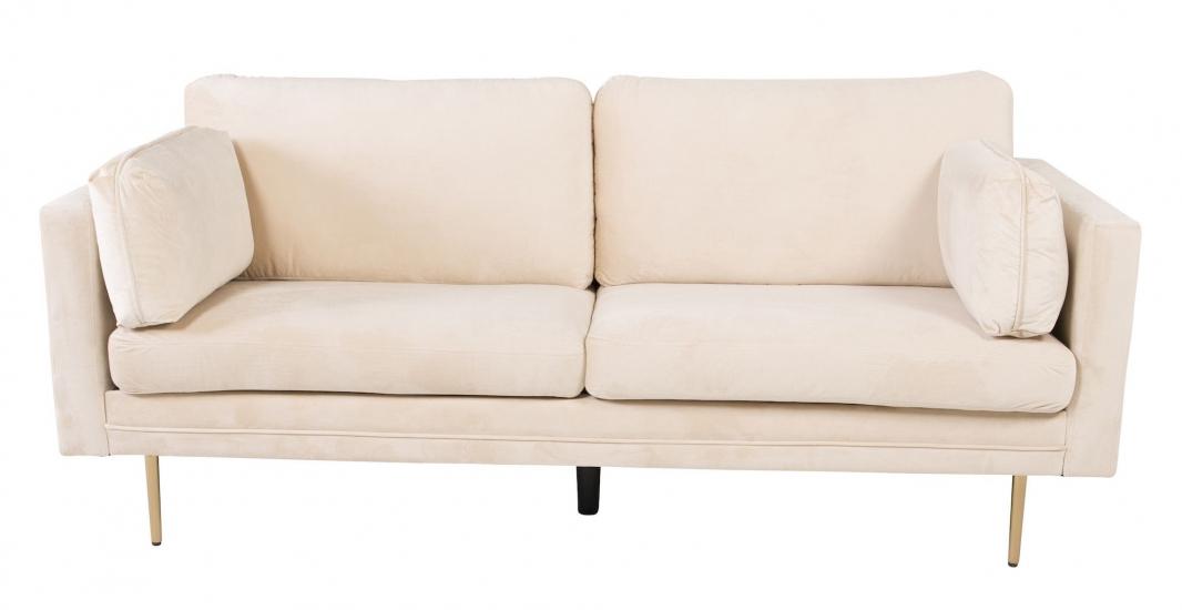 Boom 3-pers. sofa, Creme Velour