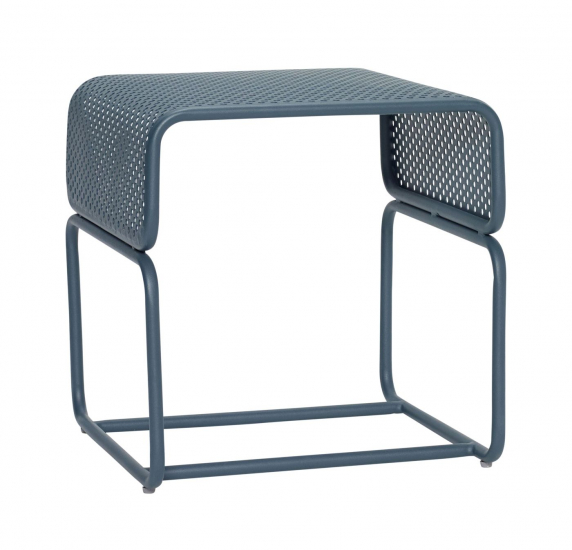 Hübsch Sidebord 42x43 - Grøn metal