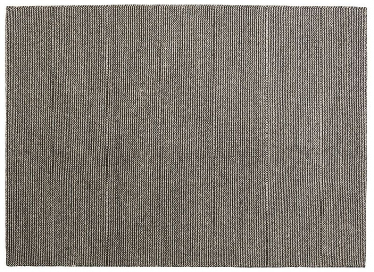 Fabula Fenris tæppe - Sort - Håndvævet Kelim 140x200 cm