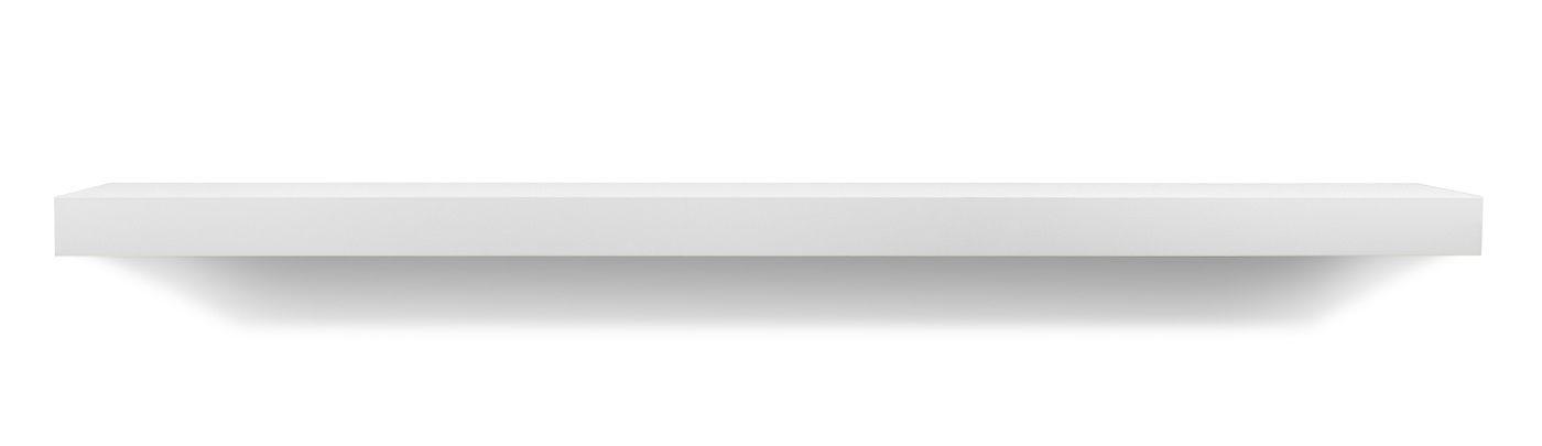 Temahome Balda Svævehylde, mat hvid, 120x22
