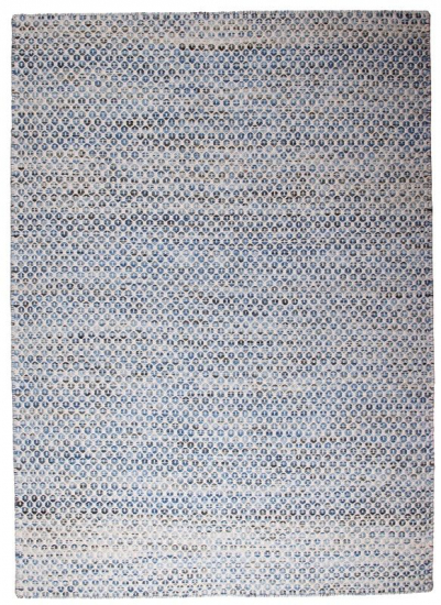 Java Kelimtæppe - Blå - 140x200
