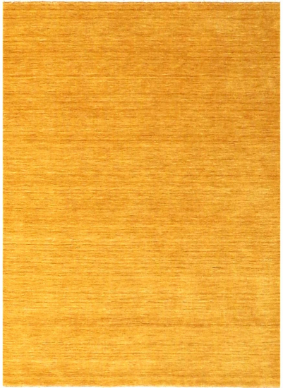 Skagen Håndvævet Tæppe - Mustard Gul - 160x230