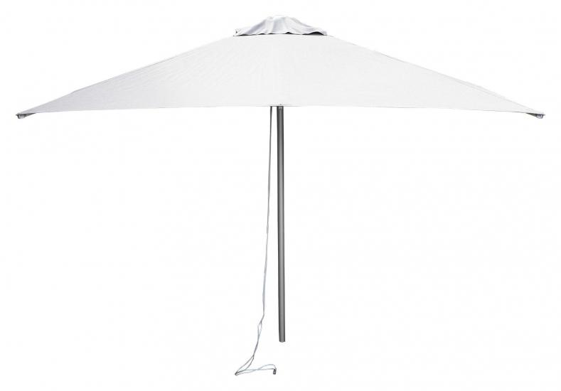 Cane-line Harbour parasol m/snoretræk, 3x3 m, Hvid