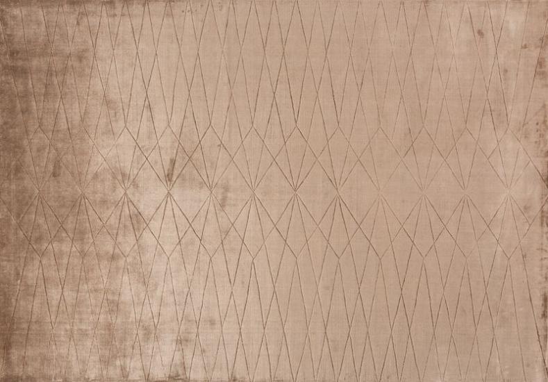 Linie Design Edge - Wine Tæppe - Rosa - 200x300 - 200x300 cm