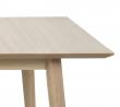 Lustra Spisebord - Lys ege finér - 200x100