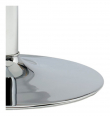Ibiza Spisebord Ø110xH74 hvid MDF - Metal base