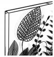 LaForma Denecia Væg Dekoration - Sort