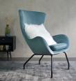 Colorcube Sofabord - Blå - 40x40 cm