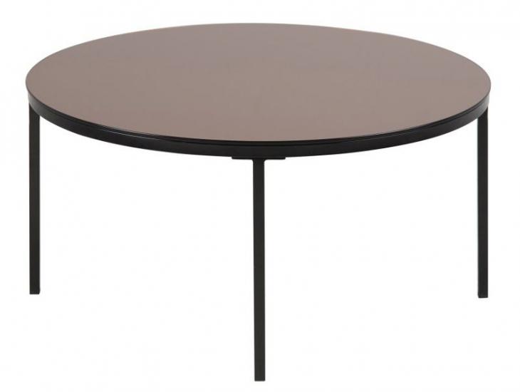 Spider Sofabord - Bronze - Sofabord med bordplade i glas