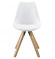 Fryd - Spisebordsstol - Hvid