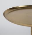 homii Fraan Sidebord - Guld, Ø31