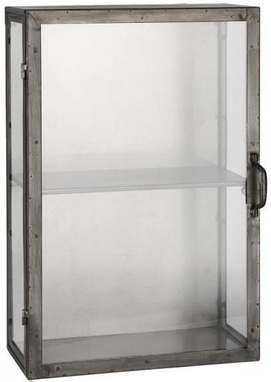 Ib Laursen - Brooklyn Væghængt Skab m/glassider