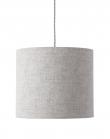 Ebb&Flow - Lampeskærm, Sølv marl, Ø35
