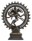 Nordal - Skulptur Black Shiva H34 - Mørk messing