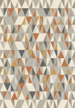 Andorra Luvtæppe m. Geometrisk mønster - 135x200