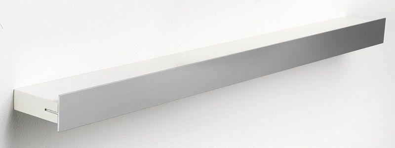 Hoigaard Design Gallerihylde - Hvid - SR-68 med aluminiumskant - mellem