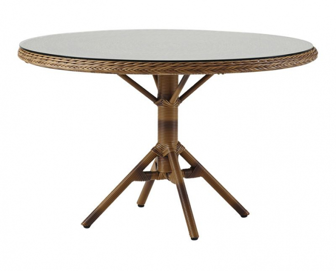 Sika-Design Grace Havebord - Chestnut, Ø120 - Georgia Garden