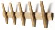 Hoigaard - Tangent 5 Knagerække - Eg - 5 knager i sæbebehandlet eg
