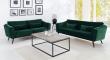 Pelham 3-pers. sofa - Grøn Velour