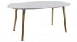 Susan Spisebord - Hvid - 170x100 m. Tillægsplader