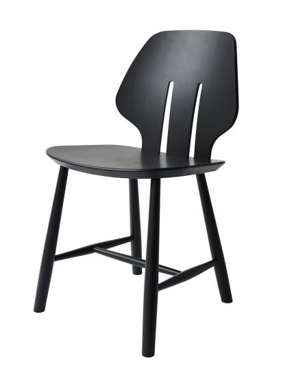 FDB Møbler - J67 Spisebordsstol - Sort