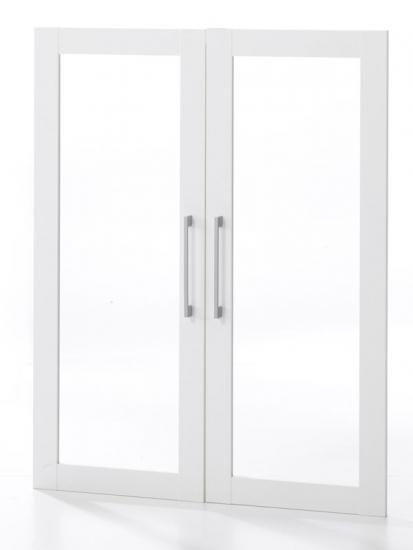 Prima Ekstralåger - 2 stk. Hvid m/glas