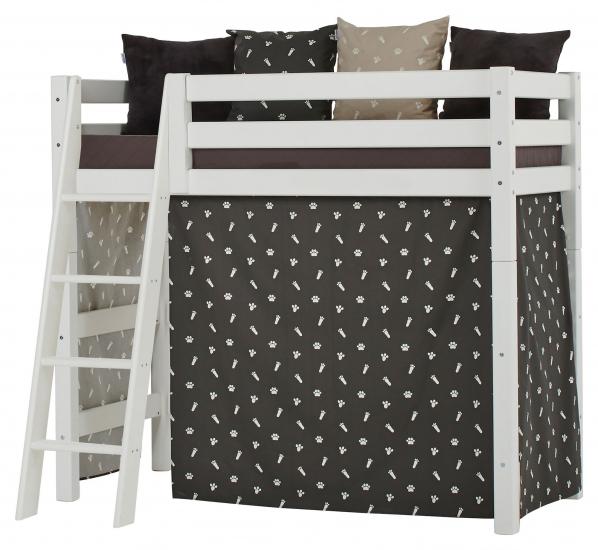 Hoppekids Premium Mellemhøj seng, Hvid, 70x160