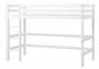 HoppeKids BASIC Mellemhøj seng - 90x200 cm - Mellemhøj seng - Hvid