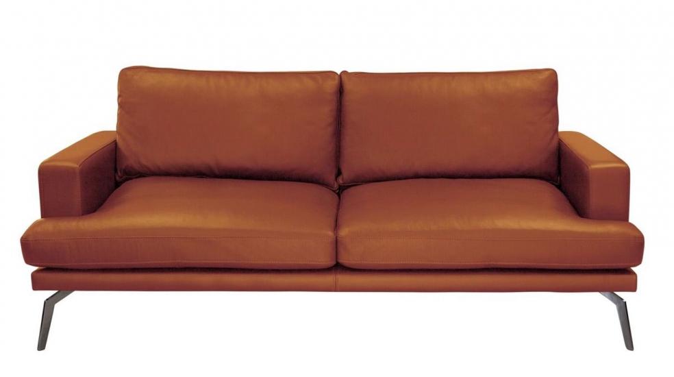 Elliot 2-pers. sofa - Brun Læder