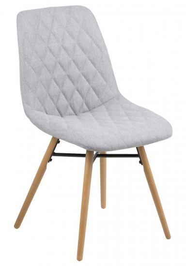 Life Spisebordsstol m/lysegrå stof