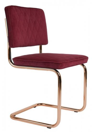 Zuiver Diamond Spisebordsstol - Rød - Rød spisestol