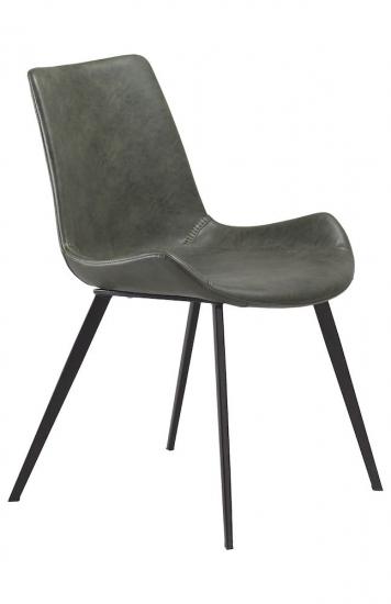 Danform - Hype Spisebordsstol - Grøn PU