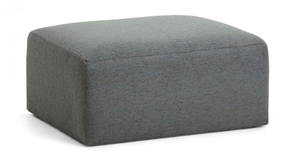LaForma Blok Puf - Mørk grå
