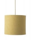 Ebb&Flow - Lampeskærm, gul marl, Ø35