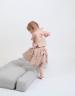 Mini Hippo Børnestol, Lysegrå