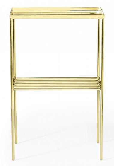 Bloomingville Grid Sidebord - Guld - Sidebord i guldmetal