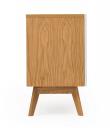 Woodman - Avon Skænk m/farvede skuffer - Olive