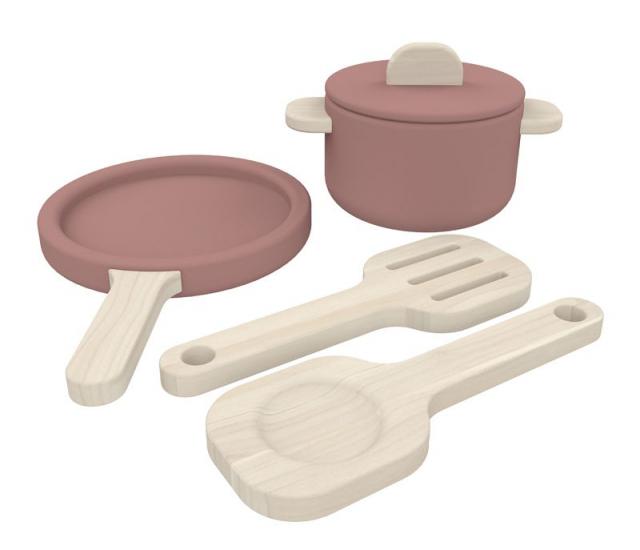 FLEXA - Toys - Grydesæt