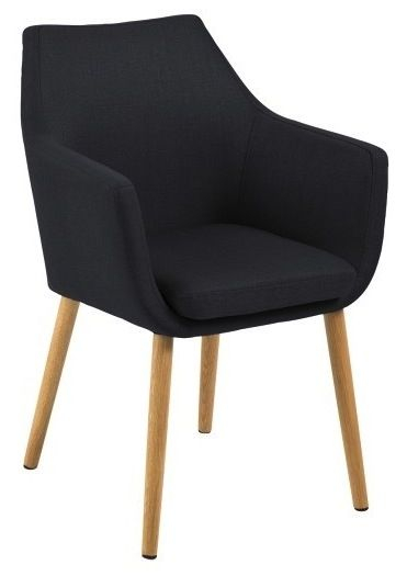 Amada Spisebordsstol - Mørk Grå - Mørkegrå spisebordsstol