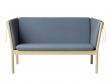 FDB Møbler - J148 2-pers. Sofa - Støvet blå