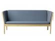 Meget FDB Møbler - J149 3-pers. Sofa - Støvet blå - Gratis fragt KZ22