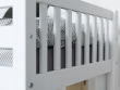 FLEXA Nordic Dream Børneseng med sengehest 90x200 - Hvid