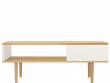 Alexandra Sofabord - Hvid og ege-look     - Smart sofabord med ege-look