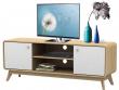 Carl TV-bord Eg-look, hvid