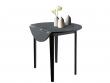 Truman Spisebord Sort med klapper - Ø91 - FSC-sertifisert tre
