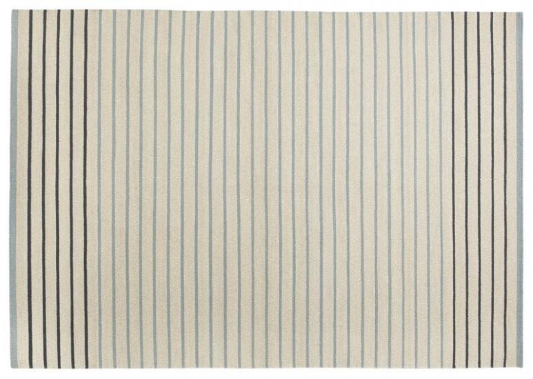 Fabula Poppy tæppe - Lyseblå/Beige - Håndvævet Kelim 170x240 cm