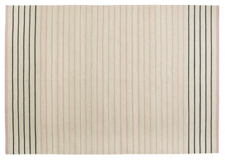 Fabula Poppy tæppe - Nude/Beige - Håndvævet Kelim 140x200 cm